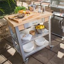 John Boos Kitchen Carts