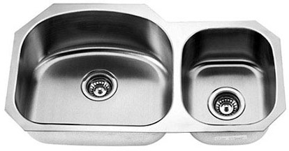 Double Bowl Undermount Empire Sink