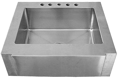 Empire Everest Collection Single Bowl Farm Sink