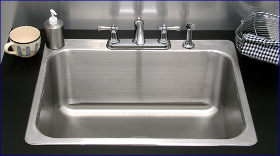 Single Bowl Sink by Advance Tabco