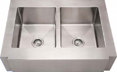 Notched Front-Apron Sink by Noah Collection