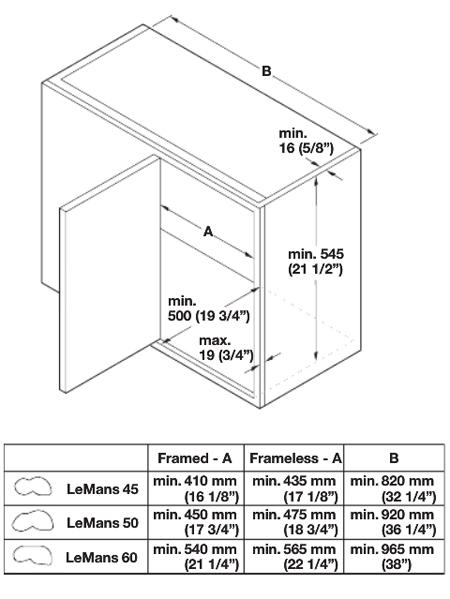 lemans ii kitchen blind base corner organizers by hafele. Black Bedroom Furniture Sets. Home Design Ideas