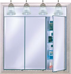 bathroom medicine cabinets af tdlt lighted triple door medicine