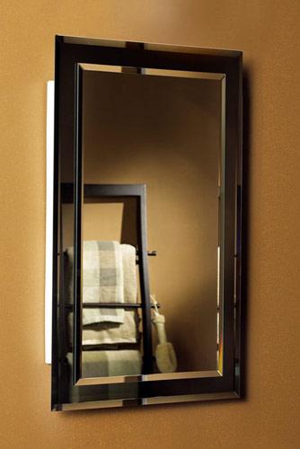 Broan Mirror on Mirror Frameless Rectangular Recessed Medicine Cabinet