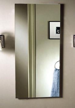 Broan White Poplar Frame for Surface Mount Installation of Medicine Cabinet 14 inchx34 inch