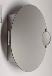 Attrayant Whitehaus New Generation Metal Wall Mounted Medicine Cabinet With Double  Sided Round Mirror 25 1