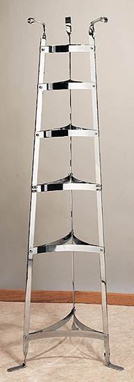Old Dutch Six Shelf Chrome Cookware Stand at Sears.com