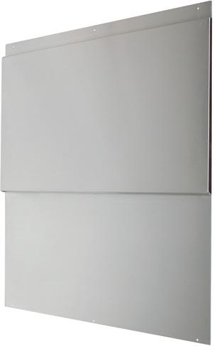 air king backsplash 30 inch w x 34 1 2 inch h with shelves