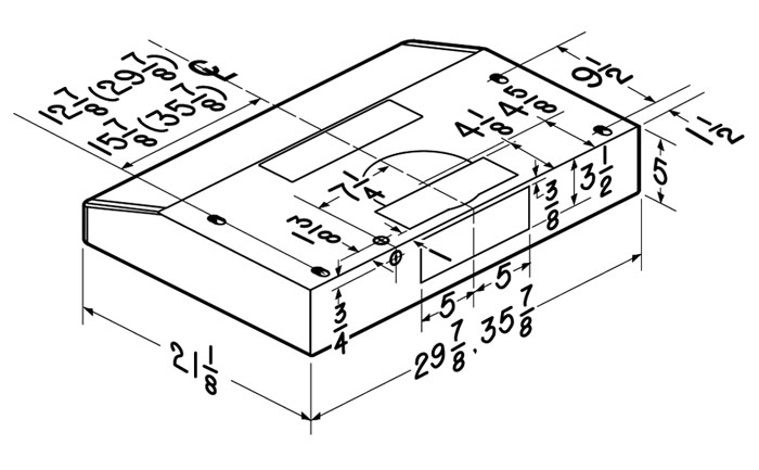 Glacier Bcdf1 Series 30 36 Or 42 Wide Deluxe Under Cabinet