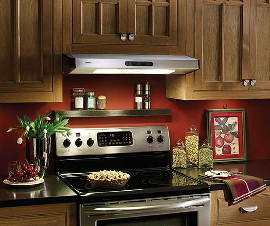 Energy Star Series Under Cabinet Mount Range Hoods