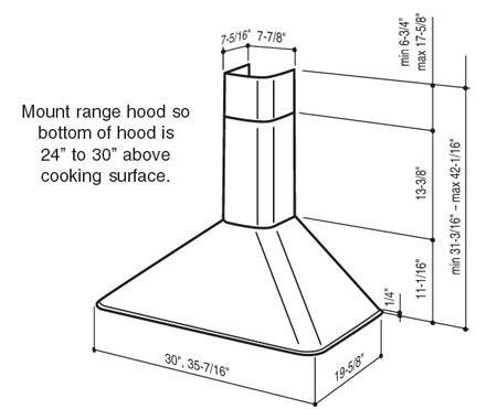 Range Hoods Rm50000 Series Wall Mount Range Hood By
