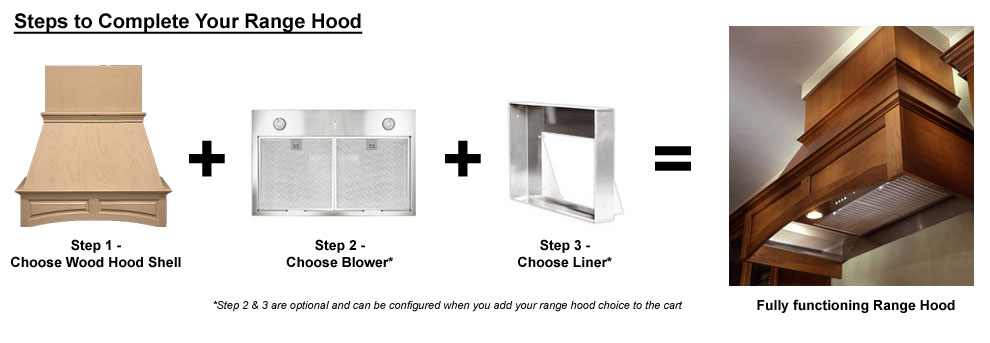 Air Pro (Formerly Fujioh) Wood Hoods (Hood Shell Only)   Range Hoods |  KitchenSource.com