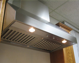 Range Hood and Canopy - 30 inch, For Use with Range Stove