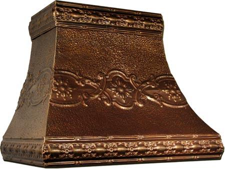 metallo arts range hood 30 inch w x 18 inch h wall mount hood with cezanne
