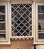 stemware racks and wine lattice by national products