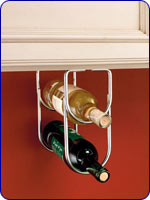 Double Bottle Rack - Chrome